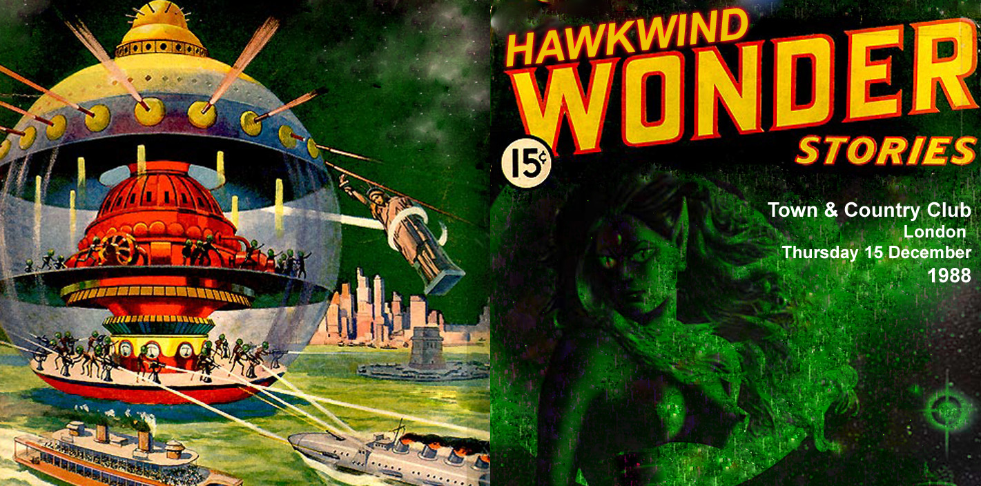 hawkwind 1988 12 15 town and country club london wonder stories. Black Bedroom Furniture Sets. Home Design Ideas